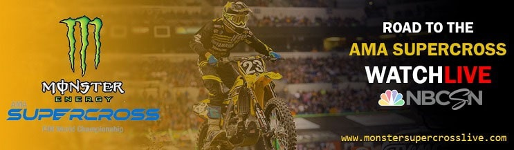 AMA Supercross Live Stream