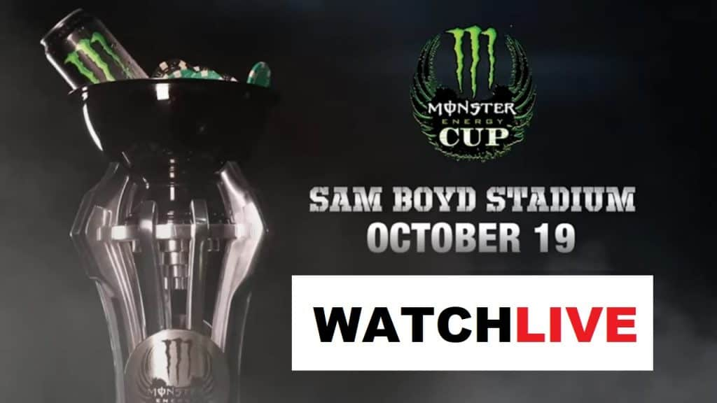 Watch Monster Energy Cup live stream